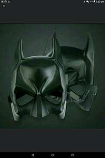 🚚 🆒🆕Hot Halloween 🎃Batman Mask Adult Black Masquerade Party Carnival Dressing Upper Half Face Mask Cool Face Costume Kit ✔Good Material.Can Be Reused