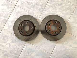Civic fd stock front brake disc
