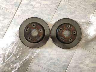 Civic fd stock rear brake disc