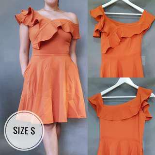 SALE: Burnt Orange Dress (Small)