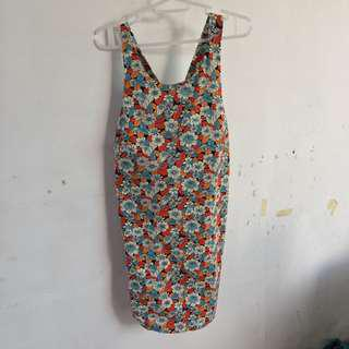 Zara sunflower dress