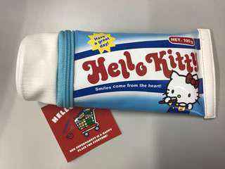 Hello Kitty Toothpaste Pencil Case