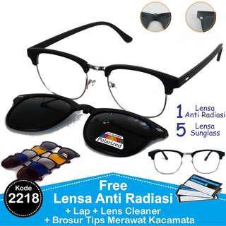 Kacamata Clubmaster 5 lensa