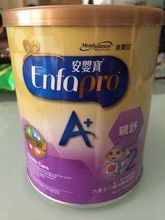 美贊臣安嬰寶A+親舒2號奶粉400g