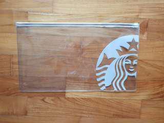 BN w/NM Starbucks Clear Folder / File