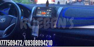 Dashboard cover for vios