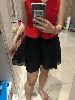 2 layer skirt