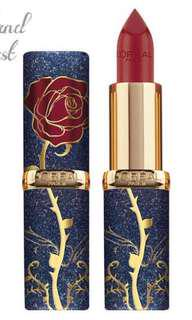 L'oreal beauty& the beast collection唇膏🌹💄
