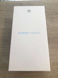 Huawei Nova 3 red 6gb/128gb
