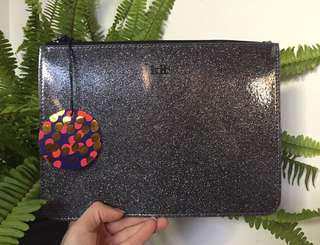 Sparkly new with tags KIT maxi Brag bag with samples