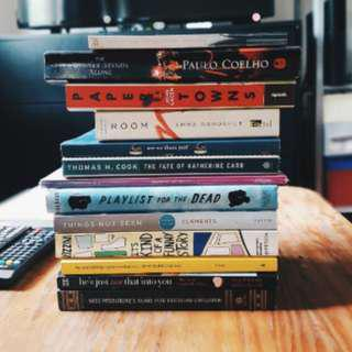 🚚 CHEAP BOOKS FOR SALE! CLASSICS AND ADULT EDITION! + FOREIGN BOOKS
