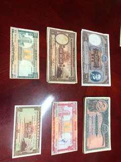 香港舊紙幣-大棉枱(價錢自由出價)
