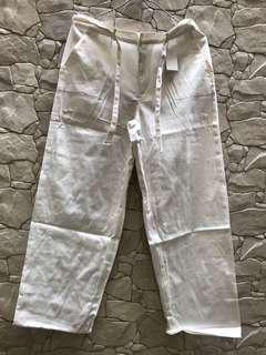Celana casual putih grosir [ ex konveksi ]
