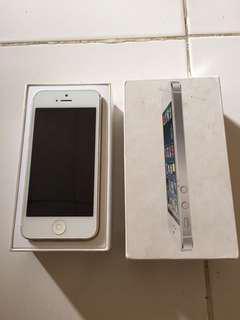 Iphone 5 white 32gb