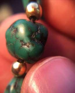原礦綠松石手鍊