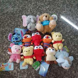 Brand new soft toys