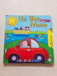 On the Move big board book