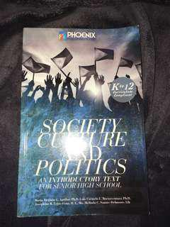 Society Culture and Politics and introduction textbook for senior highschool