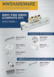 MWO 9300 Kitchen Sliding Door System
