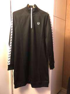 Fred Perry 黑色連身裙