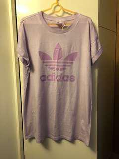Adidas Original Tee 紫色