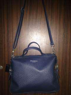 Brunbrun Paris sling bag navy