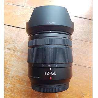Panasonic lens 12-60mm F/3.5-5.6