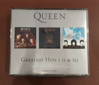 CD Queen - Greatest Hits I II & III ( The Platinum Collection 3 CD ) EUROPE PRESS