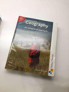 Geography: An integrated approach fourth edition by David Waugh