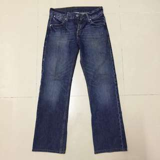 Auth Levis 523 Straight