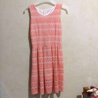 Tribal Pink Short Dress