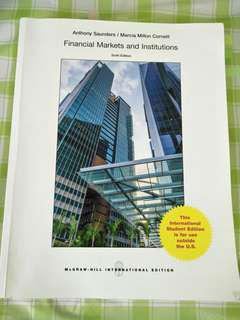 Financial Markets And Institutions Sixth edition