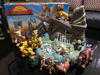 Lion King Characters Set