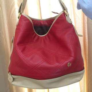 Papillon leather bag