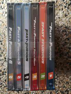 Fast & Furious STEELBOOK BD