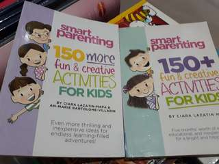 Smart Parenting 150 + and 150 more fun and creative activities for kids