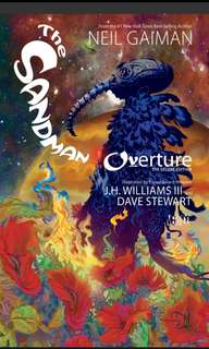 The sandman ovurture - Neil Gaiman ebook