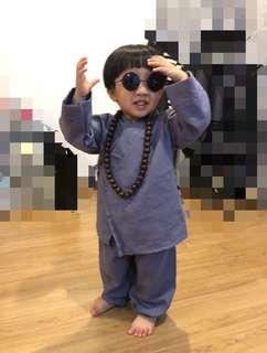 Boy Shaolin clothes set