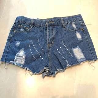 牛仔 短褲 Jeans Shorts