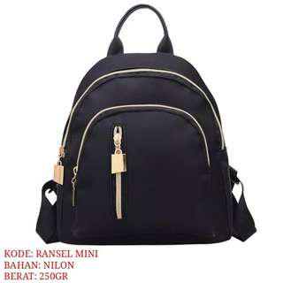 Mini backpack ransel import
