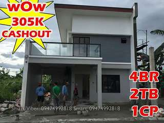 Rent to own house and lot in Cavite 4br and 2tb