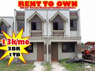 Rent to own house and lot in Bagumbong Caloocan
