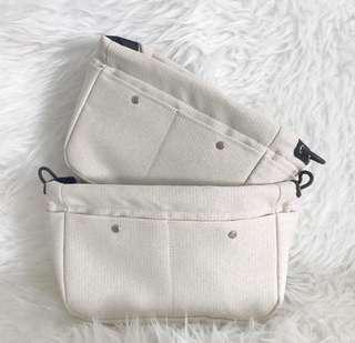 PO: Bag Organiser Fabric Kelly Picotin Lindys