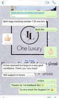 【Customer's Feedback】✅ Louis Vuitton Bags Thanks For Support Us 💯