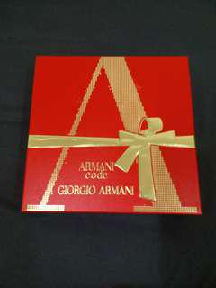 *Sale* Authentic Armani Code for Women Gift Set