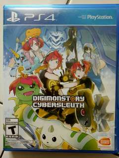 Digimon cyber sleuth ps4 mulus Reg all