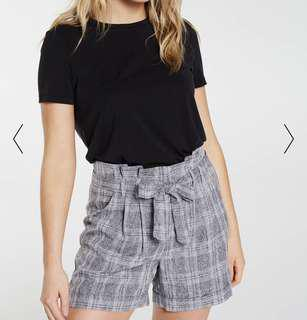 Dotti checked shorts
