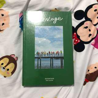 Unsealed Seventeen Teen Age Green Version with poster