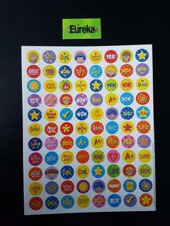 [INSTOCK] BN Star Friends Mini Reward/Merit Stickers (Eureka School)