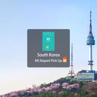 4G SIM Card (KR Airport Pick Up) for Korea